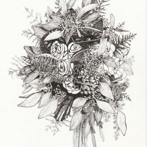 Bruidsboeket Taste of Flowers