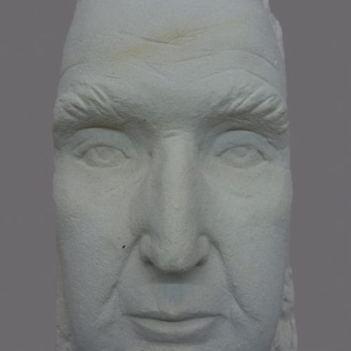 Portret Kees/ mergel