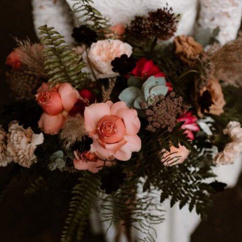 Trouwboeket van De Bloemenkeuken. Foto van Esther van Geenen