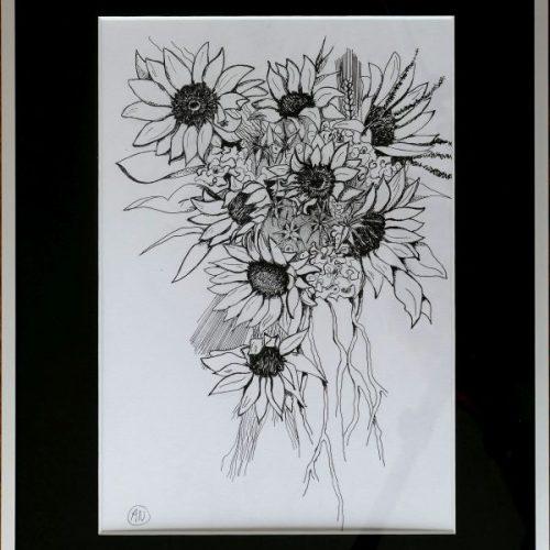 Zonnenbloemen_tekening_klein