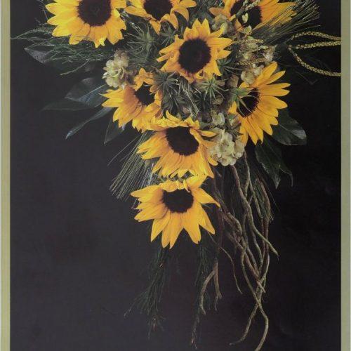 Boeket zonnebloemen